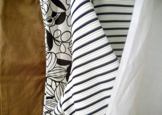 Yard sale detaliu material textil