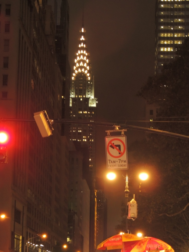 Manhattan by night - Chrysler Building