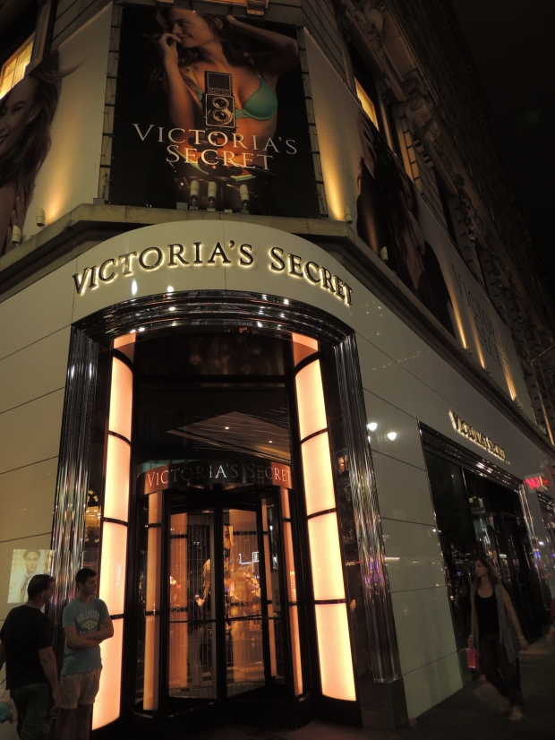 Victoria's Secret Store in Manhattan, New York
