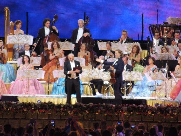 Andre Rieu in concert in Bucharest.
