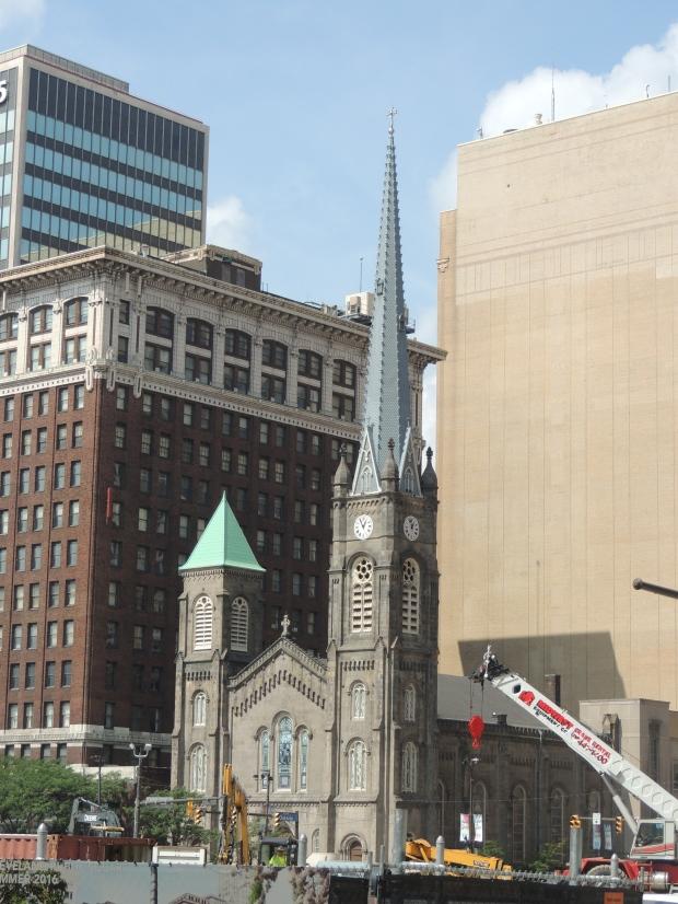 Old Stone Church in Cleveland - blogin2.com