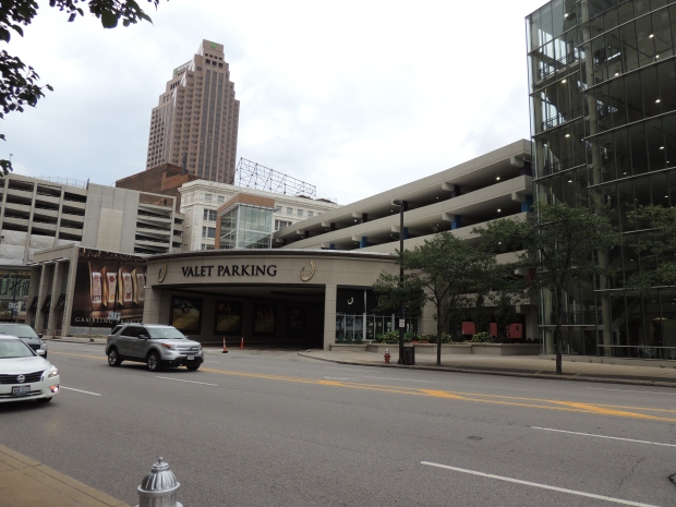 Valet parking in downtown Cleveland - blogin2.com