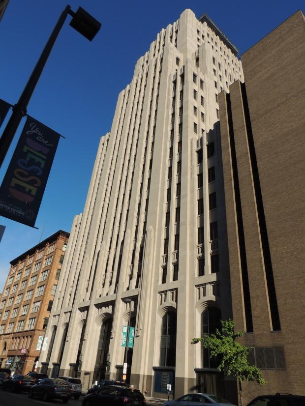 Huron Road building in Cleveland - blogin2.com