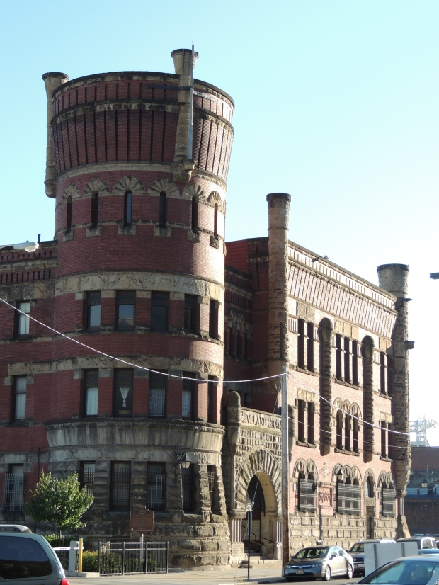 Grays Armory building in Cleveland - blogin2.com