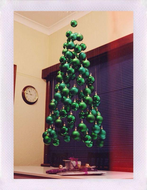 green hanging