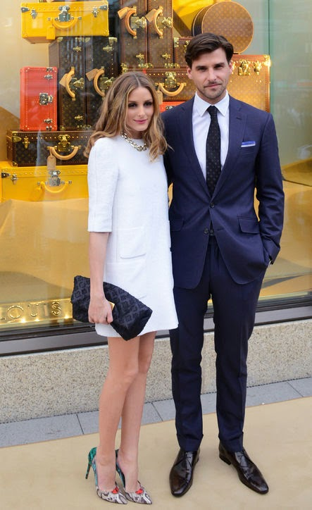Olivia Palermo white dress