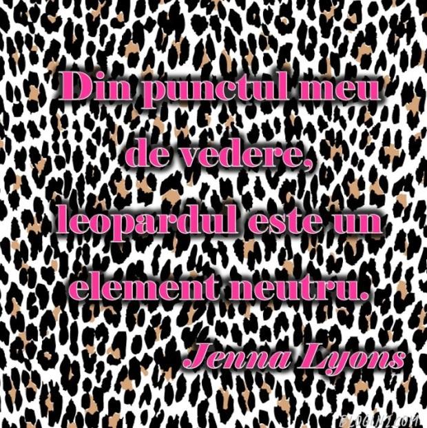 jenna lyons leopard