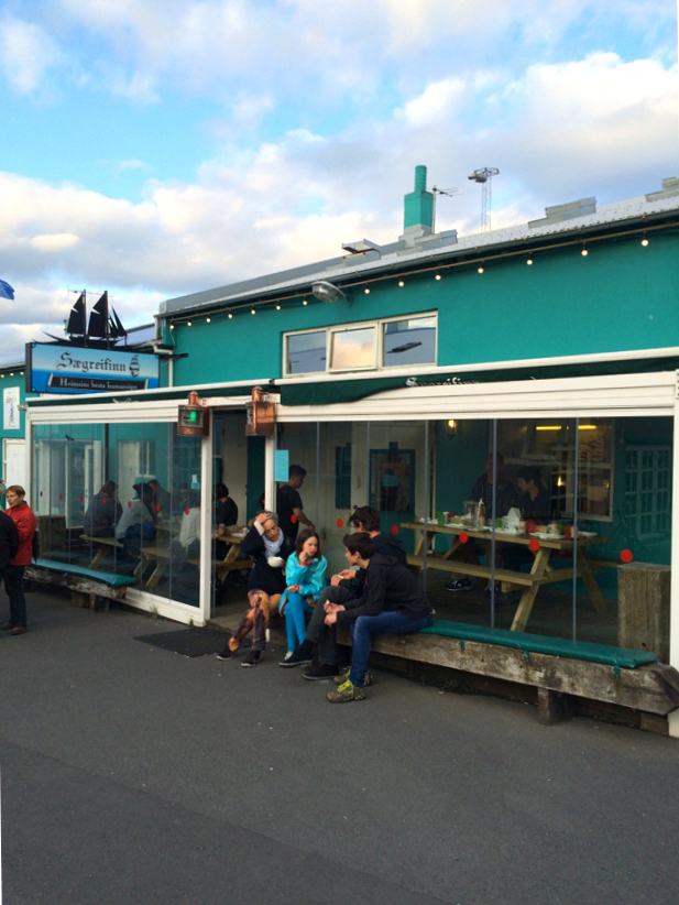 Islanda Baraca din port